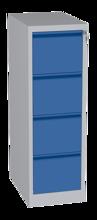 00150592 Szafa kartotekowa, 4 szuflady (wymiary: 1280x415x630 mm)
