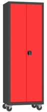 00150597 Szafa na akta na kółkach, 2 drzwi (wymiary: 1950 + koła x700x500 mm)