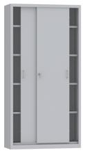 00150805 Szafa przesuwna, 4 półki (wymiary: 1950x1000x500 mm)
