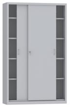 00150808 Szafa przesuwna, 4 półki (wymiary: 1950x1200x500 mm)