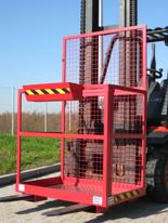 01338773 Pomost roboczy do wózka widłowego (udźwig: 250 kg)