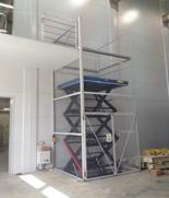 01860251 Podnośnik, podest nożycowy (udźwig: 2000 kg, wymiary: 2250x1500, skok: 4000mm, moc: 2,3kW)