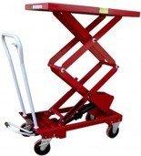 0301624 Wózek platformowy nożycowy (udźwig: 300 kg, wymiary platformy: 1010x520 mm)