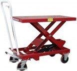 0301625 Wózek platformowy nożycowy (udźwig: 1000 kg, wymiary platformy: 1010x520 mm)