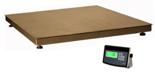 04048949 Waga platformowa ze stali szlachetnej z legalizacją (nośność: 300 kg, podziałka: 100 g, wymiary: 800x800 mm)