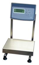 04049173 Waga stołowa ze stali szlachetnej z legalizacją (nośność: 15 kg, podziałka: 5 g, wymiary: 260x300 mm)