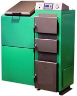 06652760 Kocioł z podajnikiem, automatyczny 50kW z systemem usuwania popiołu (paliwo: pellet, ekogroszek, węgiel, drewno)