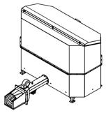 06652846 Automatyczny podajnik do spalania biomasy 2m3 400V 60kW, głowica: żeliwna (paliwo: trociny, wióry, zrębki, kora, brykiet, agrobrykiet, pellet, pestki owoców)