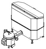 06652926 Automatyczny podajnik do spalania biomasy 2m3 400V 50kW, głowica: ceramiczna (paliwo: trociny, wióry, zrębki)