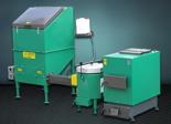 06653083 Automatyczny zestaw do spalania biomasy 8m3 400V 240kW, głowica: ceramiczna, z systemem usuwania popiołu (paliwo: trociny, wióry, zrębki)