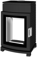 07135636 Piec wolnostojący żeliwny Austroflamm 6kW Chester Compact (wylot spalin: 150mm)