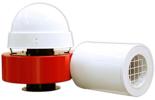 08549383 Wentylator promieniowy dachowy z wylotem poziomym WPA-7-D-3-N 400V (obroty synchroniczne: 3000 1/min, moc: 1,1 kW, wydajność wentylatora: 1800 m3/h)