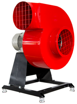 08549407 Wentylator promieniowy stacjonarny z ramą amortyzującą i z ramą amortyzującą WPA-6-E-3-N-S 400V (obroty synchroniczne: 3000 1/min, moc: 0,75 kW, wydajność wentylatora: 2500 m3/h)