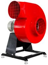 08549408 Wentylator promieniowy stacjonarny z ramą amortyzującą i z ramą amortyzującą WPA-6-E-1-N-S 230V (obroty synchroniczne: 3000 1/min, moc: 0,75 kW, wydajność wentylatora: 2500 m3/h)