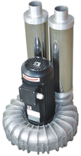 08549435 Wentylator promieniowy wysokocisnieniowy WW-2-1-1100 230V (obroty synchroniczne: 3000 1/min, moc: 1,1 kW, wydajność wentylatora: 180 m3/h)
