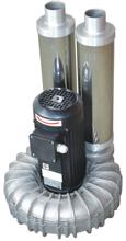 08549436 Wentylator promieniowy wysokocisnieniowy WW-2-1-1100 400V (obroty synchroniczne: 3000 1/min, moc: 1,1 kW, wydajność wentylatora: 180 m3/h)