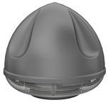 08549448 Wentylator przeciwwybuchowy dachowy SPARK-S-400/1000/Ex (obroty synchroniczne: 1000 1/min, moc: 0,75 kW, wydajność wentylatora: 5590 m3/h)