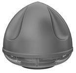 08549450 Wentylator przeciwwybuchowy dachowy SPARK-S-630/1000/Ex (obroty synchroniczne: 1000 1/min, moc: 5,5 kW, wydajność wentylatora: 19920 m3/h)