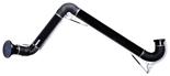 08549521 Odciąg stanowiskowy, ramię odciągowe ze ssawką z lampką halogenową i transformatorem, wersja wisząca ERGO-LL/Z-4 (średnica: 160 mm, długość: 4 m)
