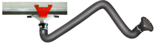 08549575 Odciąg stanowiskowy, zestaw wyciągowy: kanał odciągowy + wózek + ramię ssące ERGO-KOS (średnica ramienia odciągowego: 160 mm, długość ramienia odciągowego: 2 m, długość segmentu kanału: 4 m)