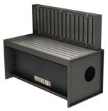 08549579 Odciągi stanowiskowy, stół z wyciągiem SLOT 1600 (wymiary stołu: 800x750 mm)