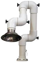 08549583 Odciąg stanowiskowy, ramię odciągowe RGO-MINI/K-50 (średnica ramion: 50 mm, zasięg: 700 mm)