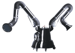 08549595 Urządzenie filtrowentylacyjne, wersja z automatyczną regeneracją filtra - bez ramion odciągowych MATRIX-1000-2-S (podciśnienie maksymalne: 2750 Pa, moc: 0,75 kW, wydajność: 1100 m3/h)