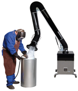 08549596 Urządzenie filtrowentylacyjne, wersja z króćcem wylotowym - bez ramion odciągowych RAK-1000-O (moc: 1,1 kW, wydajność: 1800 m3/h)
