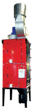 08549606 Urządzenie filtrowentylacyjne, wersja z filtrami, wentylatorem, zespołem elektrycznym i falownikiem UFO-4-M/N-2/R (podciśnienie maksymalne: 4260 Pa, moc: 12 kW, wydajność: 12000 m3/h)