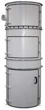 08549625 Odpylacz do odwiórowywania obrabiarek do drewna, usuwania zanieczyszczeń WE-5,5/D (moc: 5,5 kW, wydajność: 1890 m3/h)