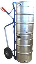 13340539 Wózek dwukołowy ręczny do przewozu kręgów oraz skrzynek (nośność: 150 kg)