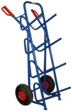 13340548 Wózek dwukołowy schodowy kroczący ręczny do przewozu galonów (nośność: 150 kg)