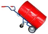 13340557 Wózek trójkołowy ręczny do przewozu stalowych beczek (nośność: 300 kg)