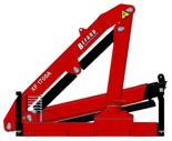 15246910 Żuraw dwuramienny Befard XF 1700B (udźwig: 420-1850 kg, zasięg: 2,0-7,7 m, ilość wysuwów hydraulicznych/ręcznych: 3/brak)