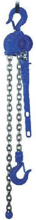 2209137 Wciągnik dźwigniowy z łańcuchem ogniwowym RZC/1.6t (wysokość podnoszenia: 6,5m, udźwig: 1,6 T)