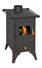 23055291 Piec wolnostojący 5kW na drewno, węgiel (średnica górnych spalin: 116mm)