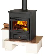 23055368 Piec wolnostojący 13kW na drewno i węgiel (bez metalowej podstawy)