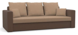25460949 Kanapa z funkcją spania i poduszkami, sprężyna bonell (wymiary: 225x92 cm)