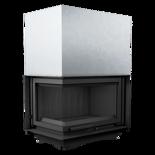 30040922 Wkład kominkowy 18kW Oliwia BS Gilotyna (lewa boczna szyba bez szprosa, podnoszona do góry)