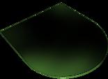 30057409 Podstawa szklana pod wklad wolnostojący Athina (wymiary: 900x1000 mm)