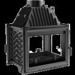30060524 Wkład kominkowy 16kW Zuzia Prawy Tunel (3 szyby)
