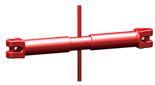 33916832 Napinacz łańcuchowy widełkowy KSS 13 (udźwig: 5,3 T, długość rozciągnięcia: 280 mm)