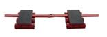 33917060 Rolki transportowe - tył CBR 18 (udźwig 18 T)
