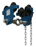 33922634 Wóżek do podwieszania i przesuwania wciągników po dwuteowniku POB 3L (udźwig: 3 T, szerokość profilu: 160-305 mm)
