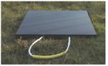 33922677 Podkład gumowy kwadratowy pod stopy stabilizatorów dźwigów GP 70-80 (wytrzymałość: 70 T, wymiary: 1000x1000x80 mm)