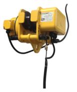 33938861 Wózek przejezdny do wciągnika EWE 2 (udźwig: 2 T, szerokość profilu: 74-124 mm)