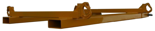 33948677 Trawersa do pojemników BIG-BAG do wózka widłowego miproFork TWL 800 (udźwig: 1000 kg, wymiary pojemnika: 800x800 mm)