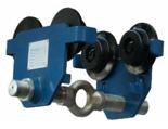 33960198 Wózek do podwieszania i przesuwania wciągników po dwuteowniku POT 2 (udźwig: 2 T, szerokość profilu: 66-220 mm)