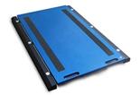 38554968 Waga podkładkowa z przewodowym miernikiem wagowym, z legalizacją (udźwig: 10000 kg, podziałka: 5 kg, wymiary: 700x450 mm)