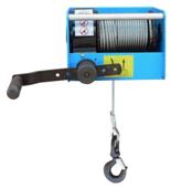 44929817 Ręczny wciągnik linowy z przekładnią ślimakową Tractel® CAROL™ TS3000 (bez liny, udźwig: 3000 kg)